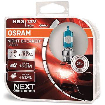 OSRAM HB3 Night Breaker Laser Next Generation +150%, 2ks - Autožárovka