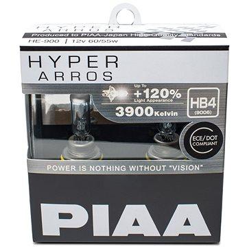 PIAA Hyper Arros 3900K HB4 + 120% zvýšený jas, 2ks - Autožárovka