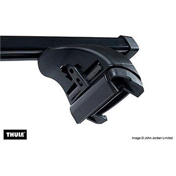 THULE Střešní nosiče pro AUDI, Q5, 5-dr SUV s integrovanými podélnými nosiči, r.v. 2017-> - Střešní nosiče