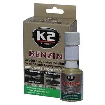 K2 BENZIN 50 ml - aditivum do paliva - Aditivum