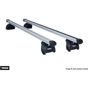 THULE Střešní nosiče pro VOLVO, V60, 5-dr Combi s integrovanými podélnými nosiči, r.v. 2010->2018 - Střešní nosiče