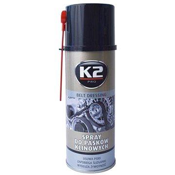 K2 Spray na klínové řemeny 400ml - Čistič