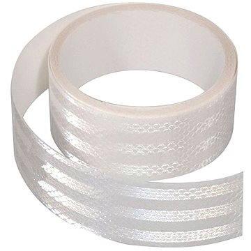 Samolepící páska reflexní 1m x 5cm bílá - Páska