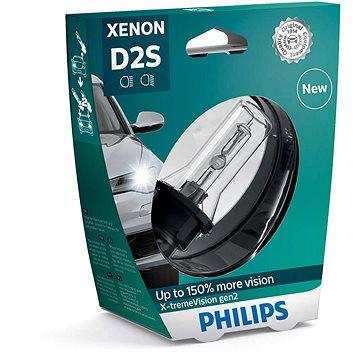 PHILIPS Xenon X-tremeVision D2S 1 ks - Xenonová výbojka