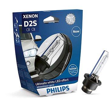 PHILIPS Xenon WhiteVision D2S 1 ks - Xenonová výbojka