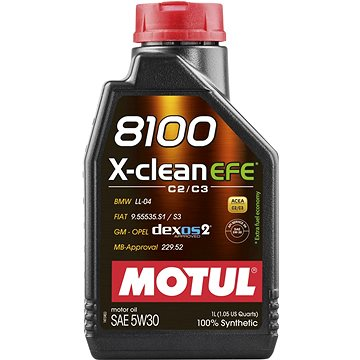 MOTUL 8100 X-CLEAN EFE 5W30 1L - Motorový olej