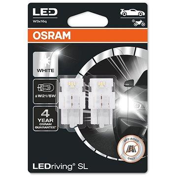 OSRAM LEDriving SL W21/5W Studeně bílá 6000K 12V dva kusy v balení - LED autožárovka