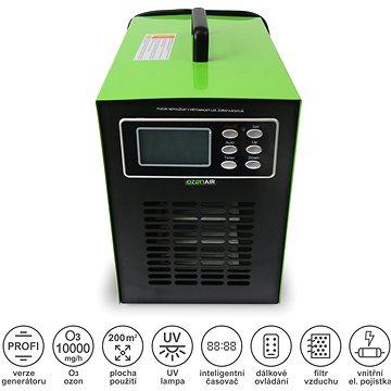 OzonAir HM-10000-TC-UV generátor s UV lampou - Generátor ozonu