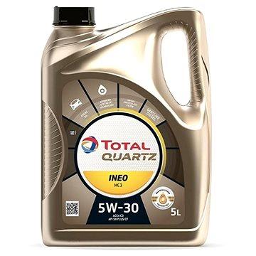 TOTAL QUARTZ INEO MC3 5W30  5l - Motorový olej