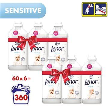 LENOR Sensitive 6× 1,8 l (360 praní) - Aviváž