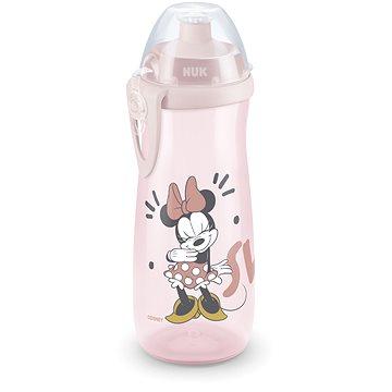 NUK láhev Sports Cup 450 ml - Mickey, Bílá - Láhev na pití pro děti