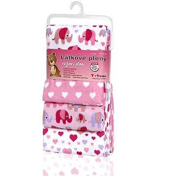 T-tomi Látkové pleny Pink elephants - Látkové pleny