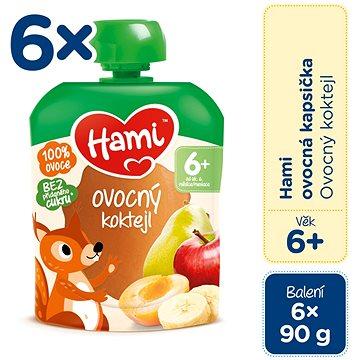 Hami Ovocný koktejl 6× 90 g - Příkrm