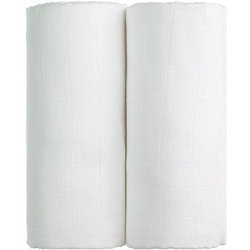 T-tomi TETRA Osušky 2 ks white - Dětská osuška