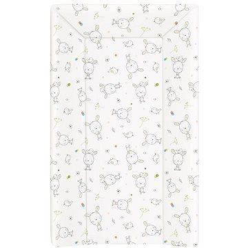 CEBA BABY Podložka měkká trojhranná - Dream puntíky bílá - Přebalovací podložka