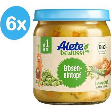 ALETE BIO Zelenina shráškem a vepřovým masem 6× 250 g - Příkrm