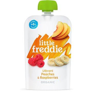 Little Freddie Broskve s malinami  6× 100 g - Příkrm