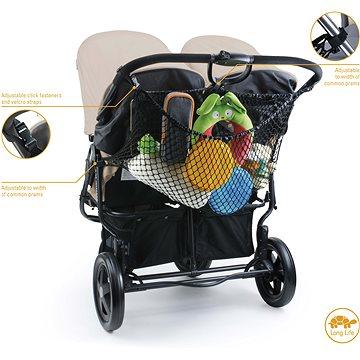 DIAGO Nákupní taška/síťka na kočárek  XL  - Síťka na kočárek