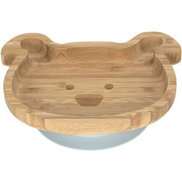 Lässig  Platter Bamboo Wood Chums Dog - Talíř