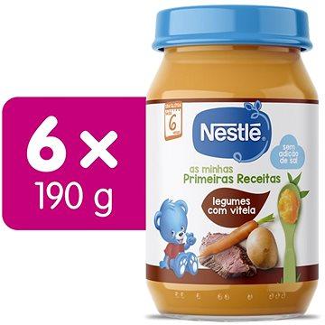 NESTLÉ Telecí maso se zeleninou 6× 190 g - Příkrm