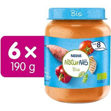 NESTLÉ NaturNes BIO Kuřecí maso s batáty a zeleninou 6× 190 g - Příkrm