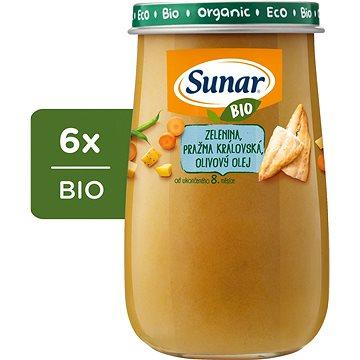 Sunar BIO Zelenina, pražma královská 6× 190 g - Příkrm
