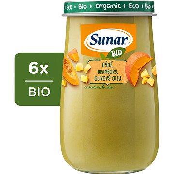 Sunar BIO Dýně, brambory, olivový olej 6× 190 g - Příkrm