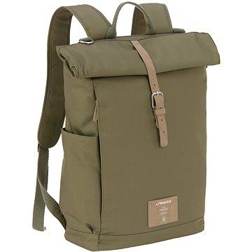 Lässig Green Label Rolltop Backpack olive - Přebalovací batoh