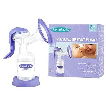 Lansinoh dvojfázová manuální odsávačka - Odsávačka mléka