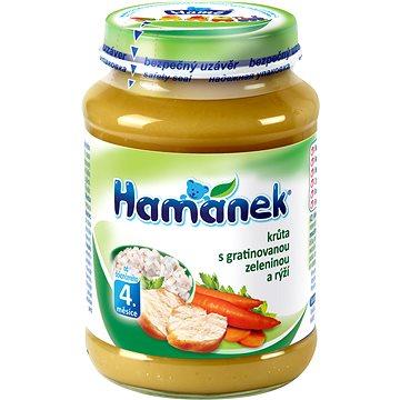 HAMÁNEK  Krůta se zeleninou a rýží 8× 190 g - Příkrm