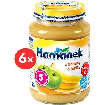 HAMÁNEK  s jablky a banány 6× 190 g - Příkrm
