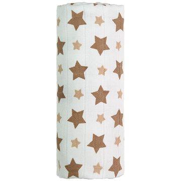 T-tomi Bambusová osuška 1 ks - béžové hvězdičky - Dětská osuška