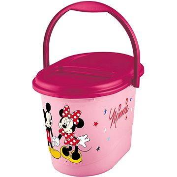 """KEEEPER Koš na pleny """"Mickey&Minnie"""" - růžový - Kyblík na pleny"""