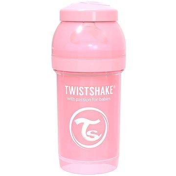 TWISTSHAKE Anti-Colic 180 ml (dudl.S) růžová - Kojenecká láhev