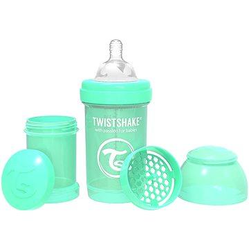 TWISTSHAKE Anti-Colic 180 ml Pastelově zelená - Kojenecká láhev