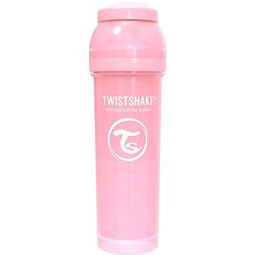 TWISTSHAKE Anti-Colic 330 ml (dudl.L) růžová - Kojenecká láhev