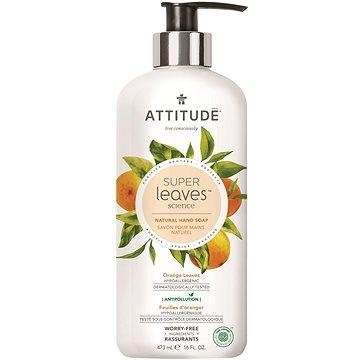 ATTITUDE Super Leaves Natural Hand Soap Orange Leaves 473 ml - Tekuté mýdlo
