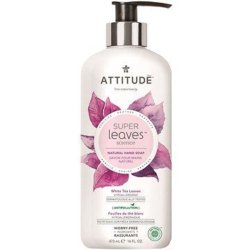 ATTITUDE Super Leaves Natural Hand Soap White Tea Leaves 473 ml - Tekuté mýdlo