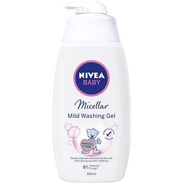NIVEA Baby Micellar Mild Washing Gel 500 ml - Dětský sprchový gel