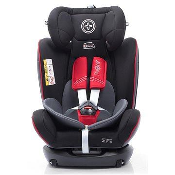 MORE WERDU Black Red Grey - Autosedačka