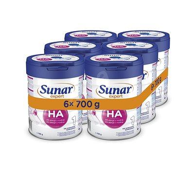 Sunar Expert HA, 2× (3× 700 g) - Kojenecké mléko