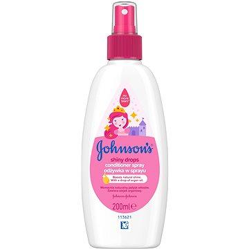 JOHNSON'S BABY Shiny Drops kondicionér ve spreji 200 ml - Kondicionér