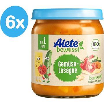 ALETE BIO Zeleninové lasagne 6× 250 g - Příkrm