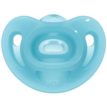 NUK Dudlík Sensitive 6-18 m - modrý - Dudlík