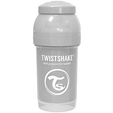 TWISTSHAKE Anti-Colic 180 ml (dudl.S) šedá - Kojenecká láhev
