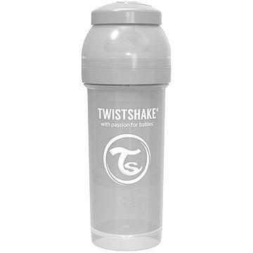 TWISTSHAKE Anti-Colic 260 ml (dudl.M) šedá - Kojenecká láhev