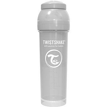 TWISTSHAKE Anti-Colic 330 ml (dudl.L) šedá - Kojenecká láhev