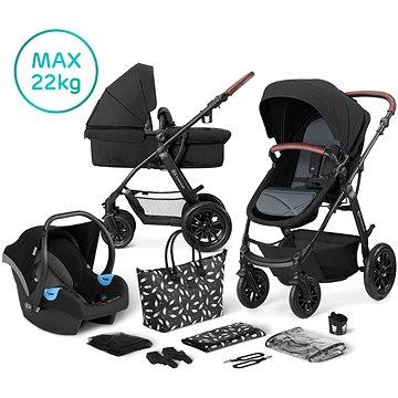 Kinderkraft 3v1 XMOOV 2020 Black - Kočárek