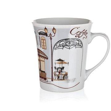 BANQUET Hrnek keramický CAFES 340 ml, dekor 2, 6ks - Hrnek