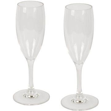 Bo-Camp Champagne Flute Polycarbonate 2 pcs - Kempingové nádobí